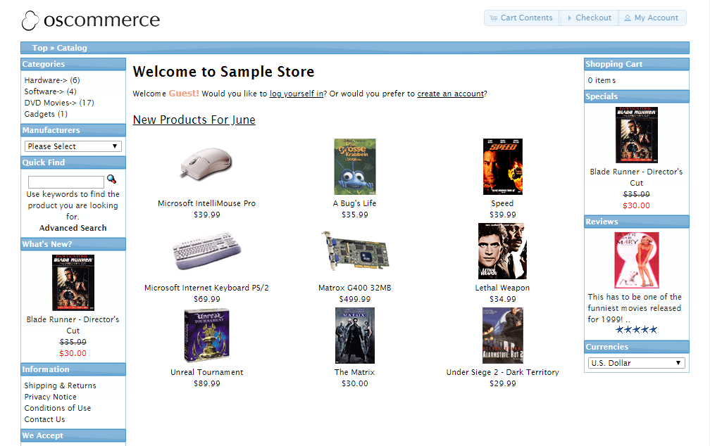 На какой платформе лучше создать сайт интернет магазин